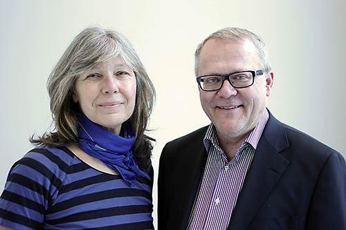 Birgitta Johansson och Lars Rönnbäck